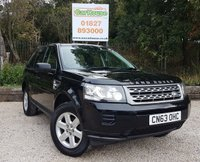 USED 2013 63 LAND ROVER FREELANDER 2.2 TD4 GS 5dr Full Leather, Cruise, DAB.