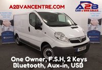 USED 2014 14 VAUXHALL VIVARO 2.0 2700 CDTI  Low Mileage , 61751 Miles , Bluetooth, Aux-in, USB, One Owner, Full Service History,  *Over The Phone Low Rate Finance Available*   *UK Delivery Can Also Be Arranged*           ___       Call us on 01709 866668