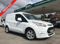 USED 2015 65 FORD TRANSIT CONNECT 1.6 200 LIMITED P/V 1d 114 BHP 3 Seat, Air Con, Heated Drivers Seat, Top Spec.
