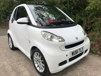 2011 SMART FORTWO 1.0 PASSION MHD 2d AUTO 71 BHP £3650.00