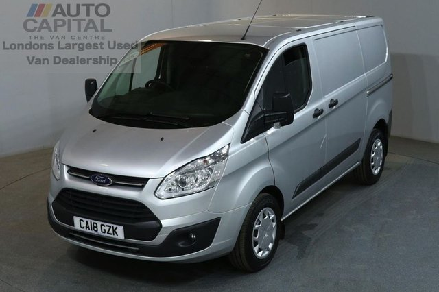 2018 18 FORD TRANSIT CUSTOM 2.0 290 TREND LR P/V 5d AUTO 129 BHP SWB EURO 6 PANEL VAN EURO 6 ENGINE / AUTOMATIC GEARBOX BOX LOW MILEAGE