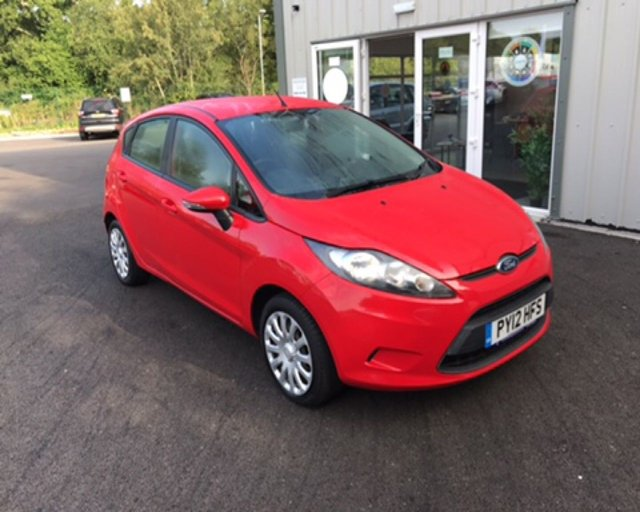 2012 12 FORD FIESTA 1.25 STYLE