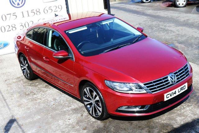 2014 14 VOLKSWAGEN CC 2.0 GT TDI BLUEMOTION TECHNOLOGY DSG 4d AUTO 138 BHP (Finance & Warranty)