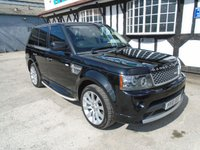 2010 LAND ROVER RANGE ROVER SPORT 5.0 V8 AUTOBIOGRAPHY SPORT 5d AUTO 510 BHP £18993.00