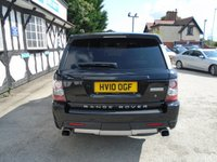 USED 2010 10 LAND ROVER RANGE ROVER SPORT 5.0 V8 AUTOBIOGRAPHY SPORT 5d AUTO 510 BHP
