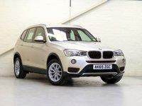 2015 BMW X3 2.0 XDRIVE20D SE 5d AUTO 188 BHP £19440.00