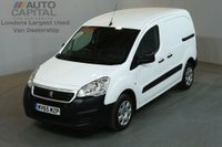 USED 2015 65 PEUGEOT PARTNER 1.6 HDI PROFESSIONAL 625 5d 92 BHP SWB AIR CON DIESEL MANUAL VAN ONE OWNER FROM NEW SPARE KEY
