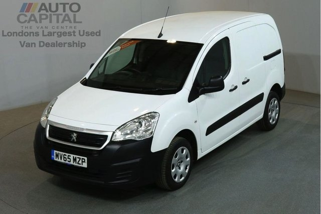 2015 65 PEUGEOT PARTNER 1.6 HDI PROFESSIONAL 625 5d 92 BHP SWB AIR CON DIESEL MANUAL VAN ONE OWNER FROM NEW SPARE KEY
