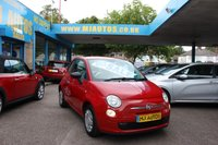 USED 2013 62 FIAT 500 1.2 POP 3dr 69 BHP NEED FINANCE??? APPLY WITH US!!! JUST 8.9%APR
