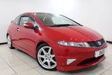 USED 2009 59 HONDA CIVIC 2.0 I-VTEC TYPE-R GT 3DR 198 BHP SERVICE HISTORY + CRUISE CONTROL + MULTI FUNCTION WHEEL + CLIMATE CONTROL + 18 INCH ALLOY WHEELS