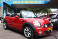USED 2013 13 MINI CONVERTIBLE 1.6 COOPER D 112 BHP SUPER LOW MILEAGE | DIESEL CONVERTIBLE | 2 OWNERS