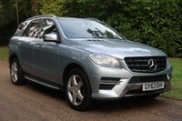 2013 MERCEDES-BENZ M CLASS 3.0 ML350 BLUETEC AMG SPORT 5d AUTO 258 BHP