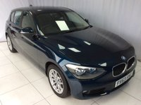 2013 BMW 1 SERIES 1.6 116D EFFICIENTDYNAMICS BUSINESS 5d 114 BHP