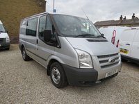 2013 FORD TRANSIT 125T 260 TREND DOUBLE CAB CREW VAN £9995.00