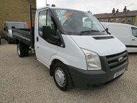 2010 FORD TRANSIT 100T 350 2.4TDCi MWB TIPPER WITH BRAND NEW BODY! £9250.00