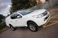 2016 MITSUBISHI L200 2.4 DI-D 4X4 WARRIOR DCB AUTO 178 BHP + HARDTOP + LEATHER £15500.00