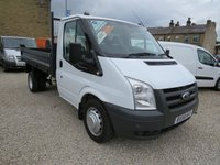 2008 FORD TRANSIT 100T 350 2.4TDCi MWB TIPPER WITH BRAND NEW BODY! £8250.00