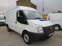 2013 FORD TRANSIT 100T 330 2.2TDCi MWB 6 SPEED MEDIUM ROOF VAN  £7750.00