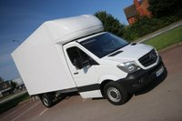 2015 MERCEDES-BENZ SPRINTER 2.1 313 CDI 129 BHP LUTON + TAIL LIFT + AIR CON £SOLD