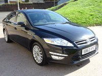 2013 FORD MONDEO 2.0 ZETEC BUSINESS EDITION TDCI 5d 161 BHP £5500.00