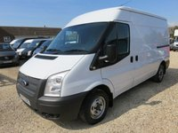 2013 FORD TRANSIT 2.2 TDCi 300 MWB MEDIUM ROOF 140 BHP 16869 MILES £9995.00