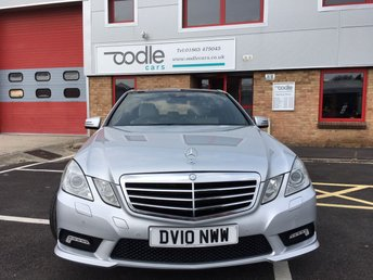 2010 MERCEDES-BENZ E CLASS 3.0 E350 CDI BLUEEFFICIENCY SPORT 4d AUTO 231 BHP £9975.00