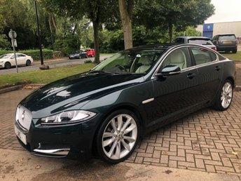 2013 JAGUAR XF 2.2 D PORTFOLIO 4DR AUTO 200 BHP GREAT SPEC & COLOUR £16889.00