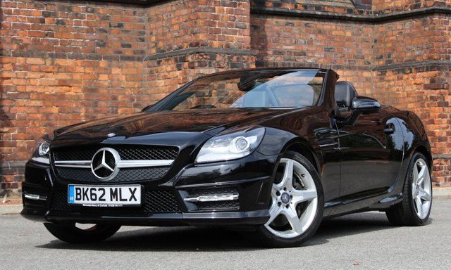 2012 62 MERCEDES-BENZ SLK 1.8 SLK200 BLUEEFFICIENCY AMG SPORT 2d AUTO 184 BHP