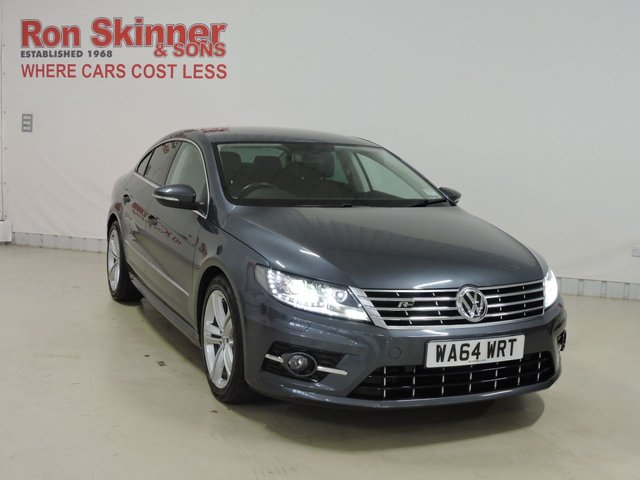 View our 2014 64 VOLKSWAGEN CC 2.0 R LINE TDI BLUEMOTION TECHNOLOGY 4d 175 BHP