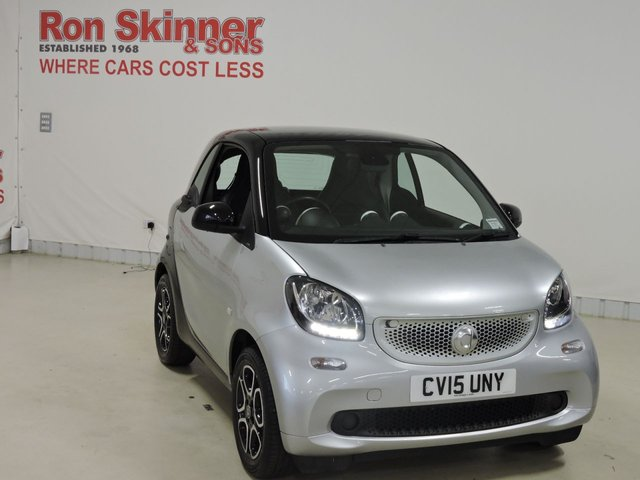 View our 2015 15 SMART FORTWO COUPE 0.9 PRIME PREMIUM T 2d 90 BHP