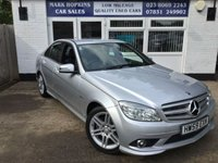 USED 2009 59 MERCEDES-BENZ C CLASS 1.6 C180 KOMPRESSOR BLUEEFFICIENCY SE 4d AUTO 156 BHP 36K FSH 1LOCAL OWNER LEATHER CRUISE VOICE  BLUETOOTH EXC CONDITION