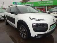 USED 2015 64 CITROEN C4 CACTUS 1.6 E-HDI FLAIR ETG6 5d AUTO 91 BHP AUTOMATIC....FULL SERVICE HISTORY....TEST DRIVE TODAY CALL 01543 877320