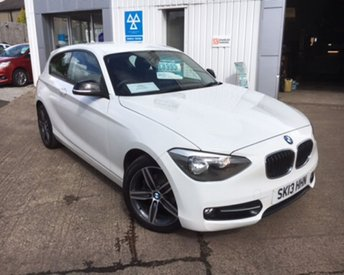 2013 BMW 1 SERIES 1.6 114I SPORT 3d 101 BHP £8995.00