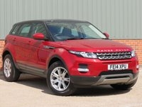 USED 2014 14 LAND ROVER RANGE ROVER EVOQUE 2.2 SD4 PURE 5d 190 BHP LOW MILEAGE, ONE OWNER AND FULL LANDROVER SERVICE HISTORY