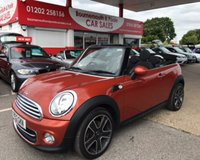 2012 MINI CONVERTIBLE AVENUE 1.6 COOPER *ONLY 28,000 MILES* £8995.00