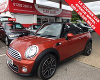 USED 2012 12 MINI CONVERTIBLE AVENUE 1.6 COOPER *ONLY 28,000 MILES*