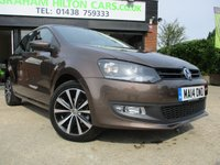 2014 VOLKSWAGEN POLO 1.2 MATCH EDITION 3d 59 BHP £7750.00