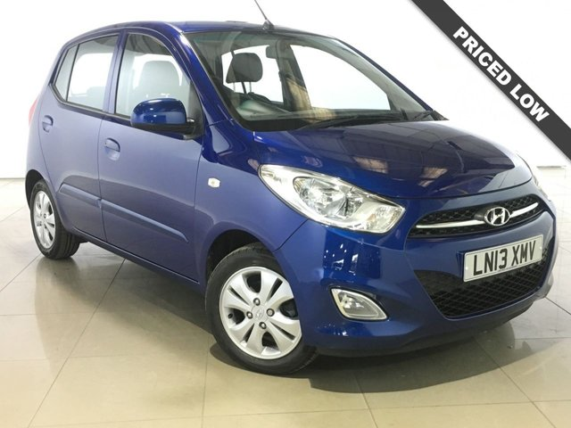 View our 2013 13 HYUNDAI I10 1.2 ACTIVE 5d 85 BHP