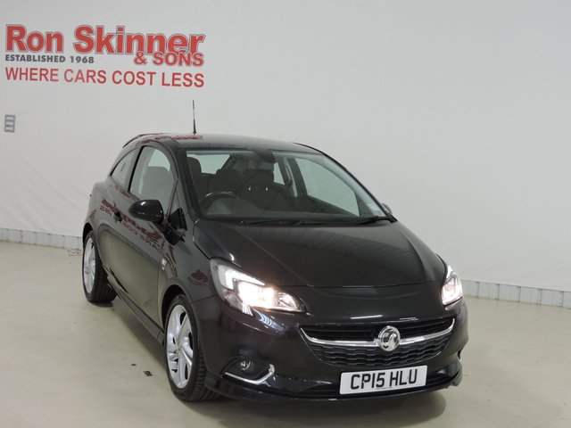 View our 2015 15 VAUXHALL CORSA (88)  1.4 SRI VX-LINE 3d 89 BHP