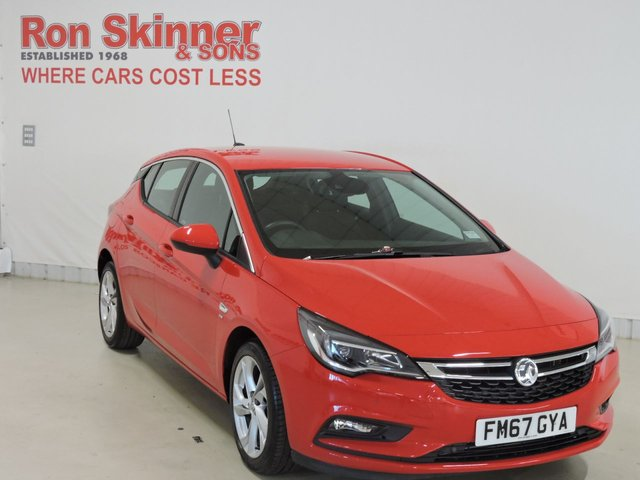 View our 2018 67 VAUXHALL ASTRA 1.4 SRI 5d 148 BHP