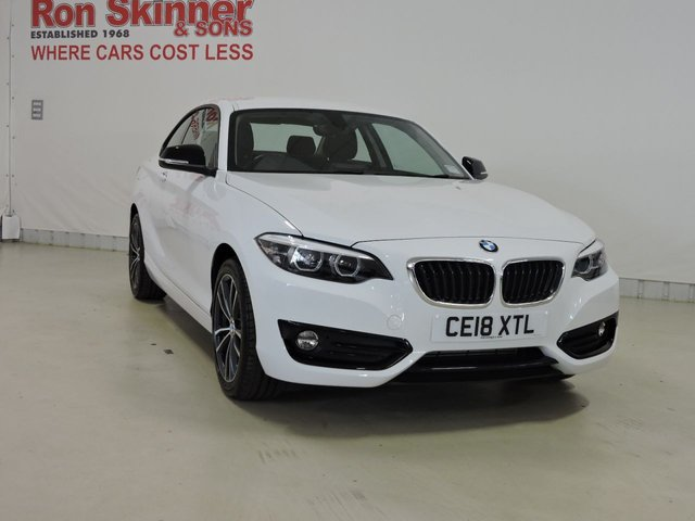 View our 2018 18 BMW 2 SERIES 1.5 218I SPORT 2d 134 BHP