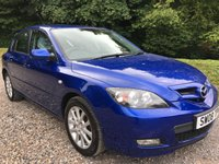 2008 MAZDA 3 1.6 TAKARA 5d 105 BHP £3475.00