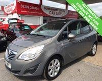 2011 VAUXHALL MERIVA 1.7 SE CDTI 5d AUTO 99 BHP £3495.00