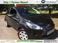 USED 2010 10 FORD KA 1.2 STUDIO 3d 69 BHP Only 1 former owner from new!