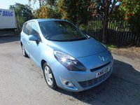 2011 RENAULT SCENIC 1.5 DYNAMIQUE TOMTOM DCI 5d 110 BHP £5495.00