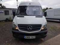 2016 MERCEDES-BENZ SPRINTER 2.1 314CDI 1d 140 BHP £SOLD