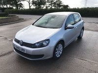 2012 VOLKSWAGEN GOLF 1.6 MATCH TDI BLUEMOTION TECHNOLOGY 5d 103 BHP £6995.00