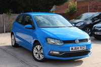 USED 2014 64 VOLKSWAGEN POLO 1.0 SE 3d 60 BHP **** ONE OWNER * FULL MAIN DEALER SERVICE HISTORY * £20 ROAD TAX ****