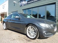 2013 BMW 4 SERIES 2.0 420D LUXURY 2d AUTO 181 BHP £14995.00