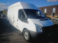 USED 2014 14 FORD TRANSIT 2.2 350 H/R 1d 99 BHP 1 OWNER - DIRECT FROM COMPANY - FULL SERVICE HISTORY  - JUST 75000 MILES